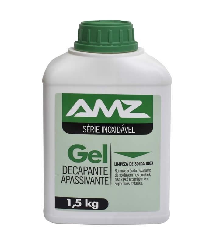 Gel Decapante e Apassivante para Inox 1,5 kg AMZ