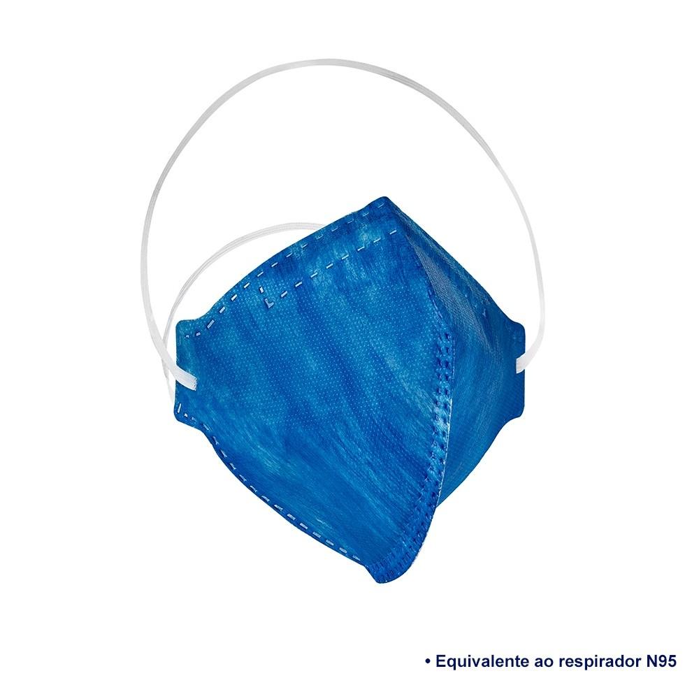 Kit com 7 Máscaras Respiratórias PFF2 Equivalente N95 - Delta Pro