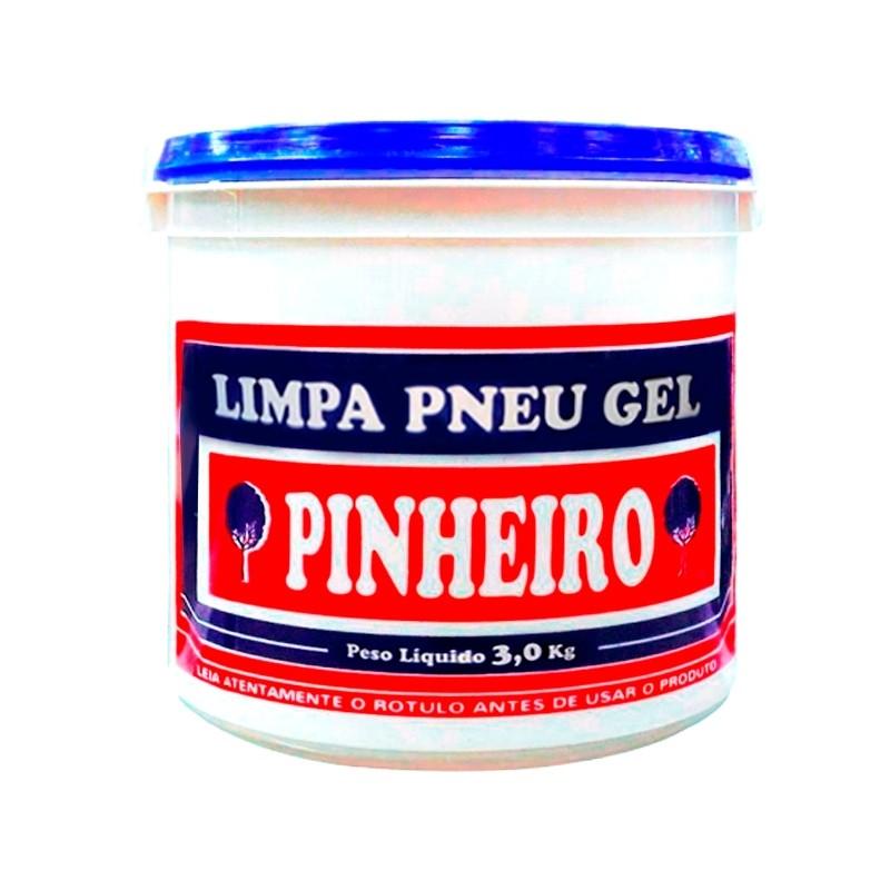 Limpa Pneu Pretinho Gel  Pinheiro
