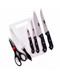 Kit de Facas para Churrasco ou Cozinha com 7 peças Profissional - Western N7