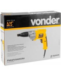 "Parafusadeira para Drywall Encaixe 1/4"" Vonder PFV 514"