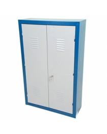 Armário para Ferramentas em Chapa de Aço com prateleiras e porta ferramentas - ARM11