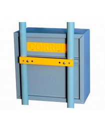 Caixa de Cartas Correios para Embutir em Muros ou Grade - Fercar COR-3