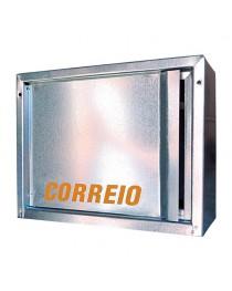Caixa de Cartas, Revista, Jornal Correios para Embutir em Muros Aluminio Fundido – 20H