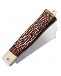 """Canivete Inox Tramontina 3"""" Cabo ABS Lâmina Larga - 26301/103"""