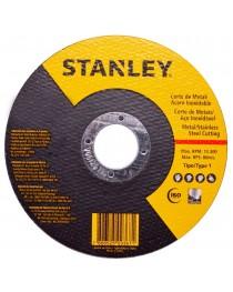 Disco De Corte Para Aço Inox e Metal  4 1/2 (115 mm) Fino STANLEY STA8061
