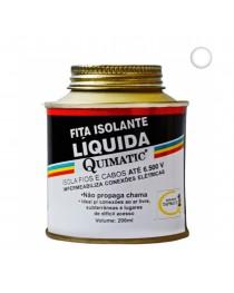 Fita Isolante Líquida Quimatic Transparente 200 ml