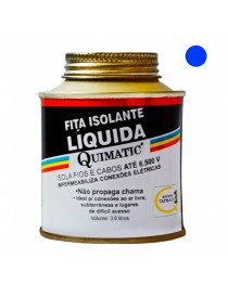 Fita Isolante Líquida Quimatic Azul 3,6 litros