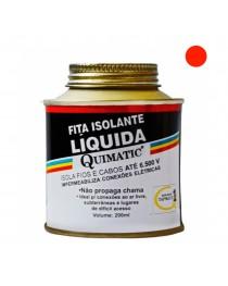 Fita Isolante Líquida Vermelha Quimatic 200 ml