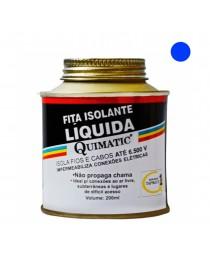 Fita Isolante Líquida Quimatic Azul 200 ml