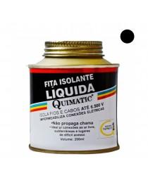 Fita Isolante Líquida Preta 200 ml
