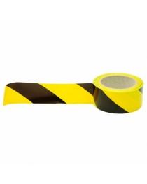 Fita Zebrada p/Segurança - 48 mm x 50 M