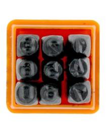 Algarismo para Marcação 3mm com 9 Peças Starfer