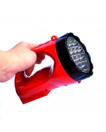 Lanterna Recarregavel 12 Leds  2 Níveis de Iluminação - Noll