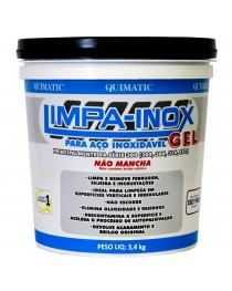 Gel Decapante Limpa Inox Industrial Quimatic Tapmatic3,4 kg