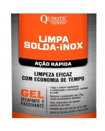 Gel Decapante Limpa-Solda-Inox Ação Rápida Quimatic Tapmatic 850 gramas
