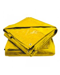 Lona Plástica Carreteiro amarela