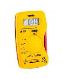 Multimetro Digital Profissional Amarelo Vonder MDV0300 - 3870300000