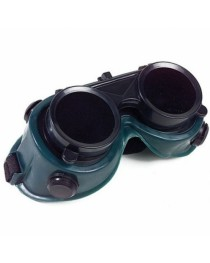 Óculos de proteção para solda com lente dupla