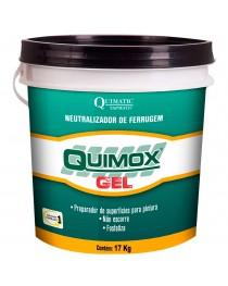 Quimox Gel Neutralizador de Ferrugem Quimatic Tapmatic 17 Kg