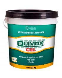 Quimox Gel Neutralizador de Ferrugem Quimatic Tapmatic 850 Gramas
